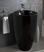 Раковина напольная Mira MR-4949NPB (490x490x820 мм.) черная