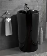 Раковина напольная Mira MR-4747NPB (460x460x820 мм.) черная