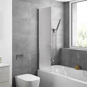 Шторка для ванной стеклянная Mira Glass 400M, универсальная